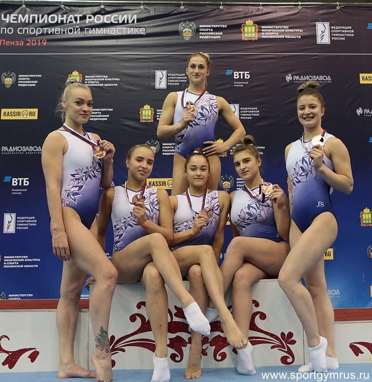Женская сборная команда Санкт-Петербурга - бронзовый призер Чемпионата России 2019г.